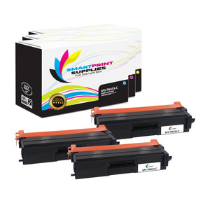 3 Pack Brother TN433 3 Colors Replacement Toner Cartridge By Smart Print Supplies