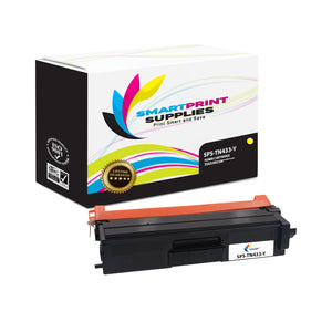 1 Pack Brother TN433 Yellow Replacement Toner Cartridge By Smart Print Supplies