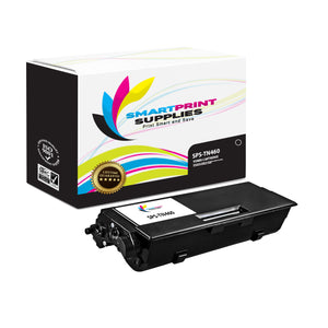 1 Pack Brother TN460 Black Replacement Standard Toner By Smart Print Supplies