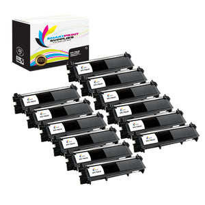 12 Pack Brother TN630 Black Replacement Standard Toner By Smart Print Supplies