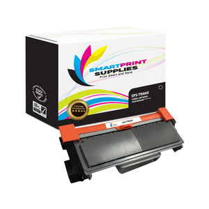 Brother TN660 Replacement Black Toner Cartridge by Smart Print Supplies /2600 Pages