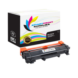 1 Pack Brother TN770 Black Replacement Standard Toner By Smart Print Supplies