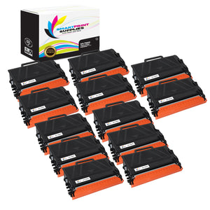 12 Pack Brother TN850 Black Replacement Standard Toner By Smart Print Supplies