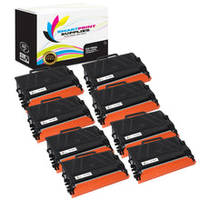 8 Pack Brother TN850 Black Replacement Standard Toner By Smart Print Supplies