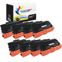 8 Pack Brother TN880 Black Replacement Standard Toner By Smart Print Supplies
