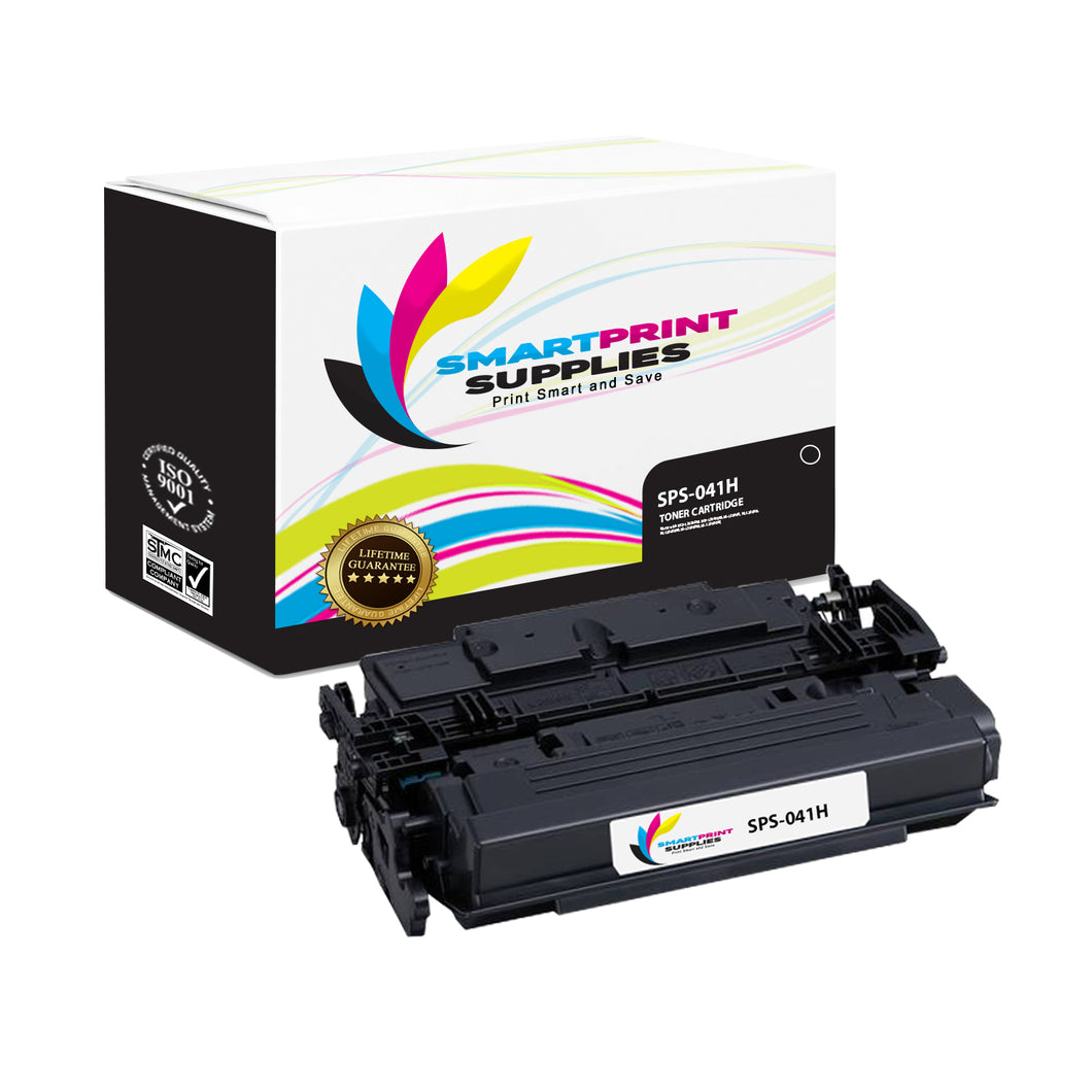 1 Pack Canon CTG-041H Black Replacement Standard Toner By Smart Print Supplies