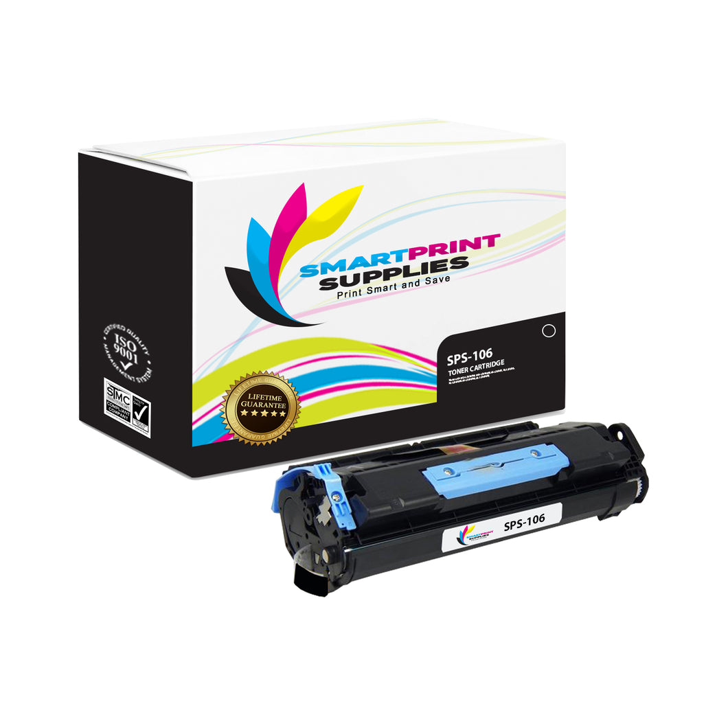 1 Pack Canon C 106 Black Replacement Standard Toner By Smart Print Supplies