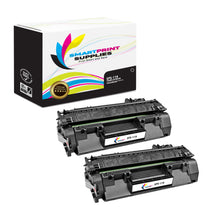 2 Pack Canon C 119A Black Replacement Standard Toner By Smart Print Supplies
