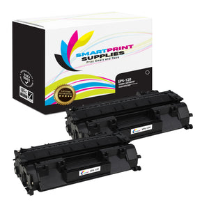 2 Pack Canon C 120 Black Replacement Standard Toner By Smart Print Supplies