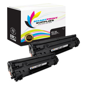 Canon 128 Replacement Black Toner Cartridge by Smart Print Supplies /2100 Pages