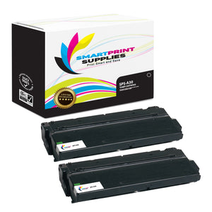 2 Pack Canon CAN-A30 Premium Replacement Black Toner Cartridge by Smart Print Supplies