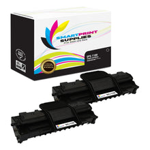 2 Pack Dell 1100 Black Replacement Toner Cartridge By Smart Print Supplies