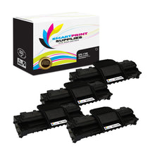 4 Pack Dell 1100 Black Replacement Toner Cartridge By Smart Print Supplies