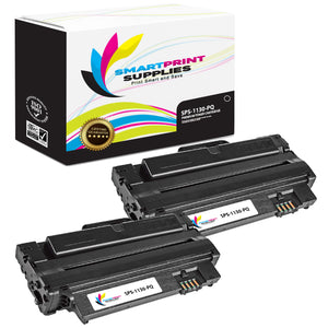 2 Pack Dell D1130 PQ Premium Replacement Black Toner Cartridge by Smart Print Supplies