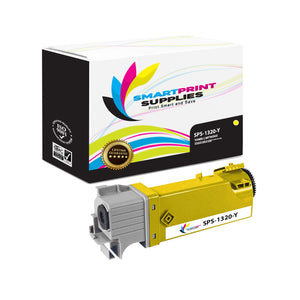 1 Pack Dell 1320C Yellow Replacement Toner Cartridge By Smart Print Supplies