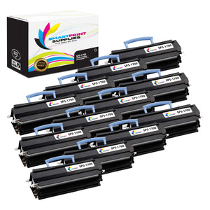 12 Pack Dell 1700 Black Replacement Toner Cartridge By Smart Print Supplies