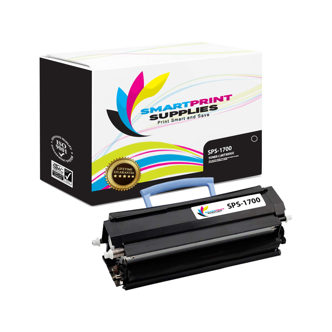 1 Pack Dell 1700 Black Replacement Toner Cartridge By Smart Print Supplies