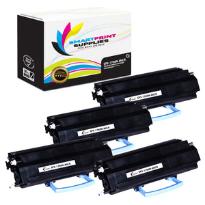 4 Pack Dell 1700N MICR Replacement Black Toner Cartridge by Smart Print Supplies /6000 Pages