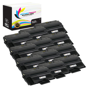 12 Pack Dell 1815 Black Replacement Toner Cartridge By Smart Print Supplies