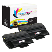 2 Pack Dell 1815 Black Replacement Toner Cartridge By Smart Print Supplies