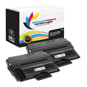 2 Pack Dell 1815 MICR Replacement Black Toner Cartridge by Smart Print Supplies /5000 Pages
