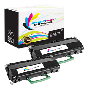 2 Pack Dell 2230 MICR Replacement Black Toner Cartridge by Smart Print Supplies /3500 Pages
