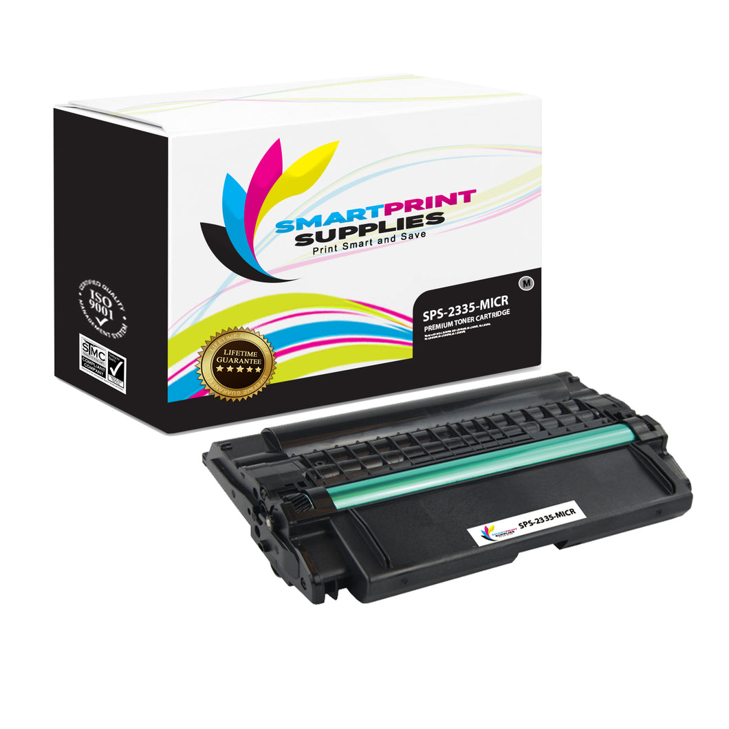 1 Pack Dell 2335 MICR Replacement Black Toner Cartridge by Smart Print Supplies /6000 Pages