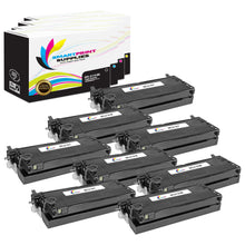8 Pack Dell 3110CN 4 Colors Replacement Toner Cartridge By Smart Print Supplies