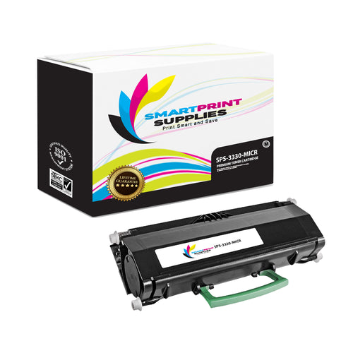 1 Pack Dell 3330 MICR Replacement Black Toner Cartridge by Smart Print Supplies /14000 Pages