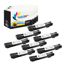 8 Pack Dell 5130CDN 4 Colors Replacement Toner Cartridge By Smart Print Supplies