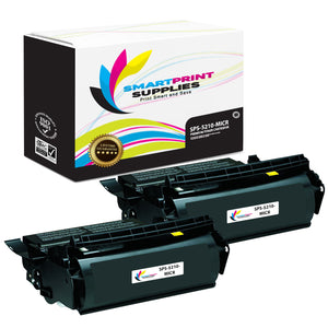 2 Pack Dell 5210 MICR Replacement Black Toner Cartridge by Smart Print Supplies /21000 Pages