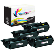 4 Pack Dell 5210 MICR Replacement Black Toner Cartridge by Smart Print Supplies /21000 Pages