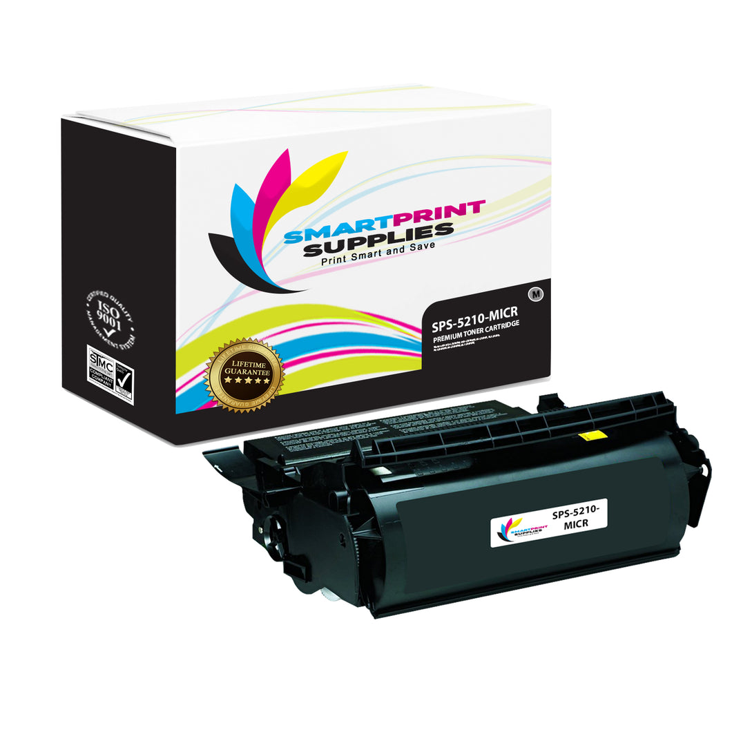 1 Pack Dell 5210 MICR Replacement Black Toner Cartridge by Smart Print Supplies /21000 Pages