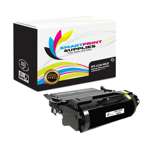 1 Pack Dell 5230 MICR Replacement Black Toner Cartridge by Smart Print Supplies /21000 Pages