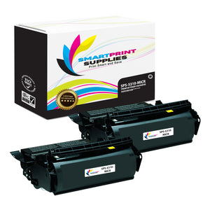 2 Pack Dell 5310 MICR Replacement Black Toner Cartridge by Smart Print Supplies /32000 Pages