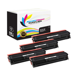 4 Pack Dell B1160 Black Replacement Toner Cartridge By Smart Print Supplies