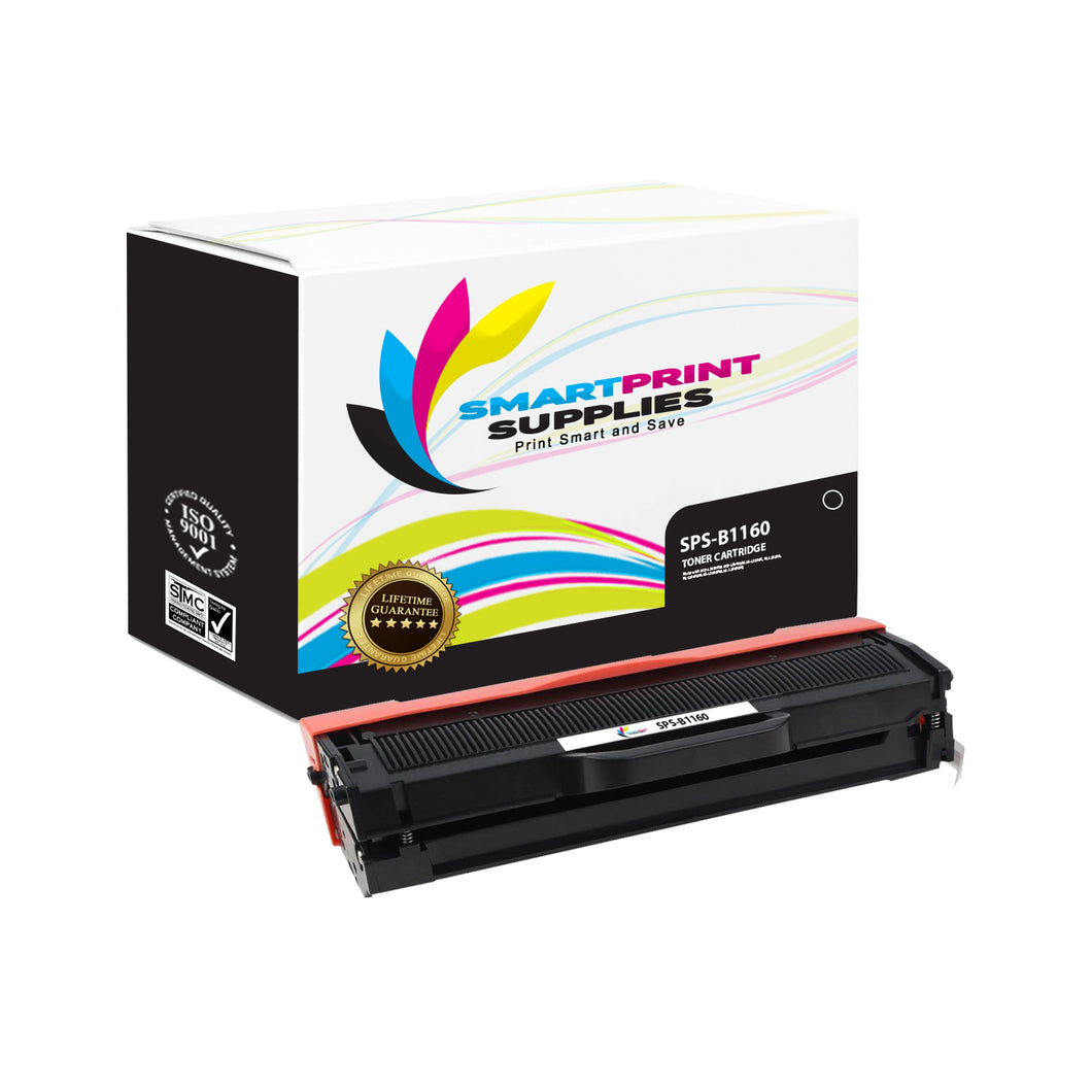 1 Pack Dell B1160 Black Replacement Toner Cartridge By Smart Print Supplies