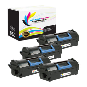 4 Pack Dell B3465 Premium Replacement Black Toner Cartridge by Smart Print Supplies