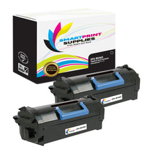 2 Pack Dell B5465 Premium Replacement Black Toner Cartridge by Smart Print Supplies