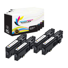 4 Pack Dell C2660 4 Colors Replacement Toner Cartridge By Smart Print Supplies
