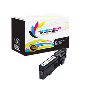 1 Pack Dell C2660 Black Replacement Toner Cartridge By Smart Print Supplies