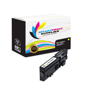 1 Pack Dell C2660 Yellow Replacement Toner Cartridge By Smart Print Supplies