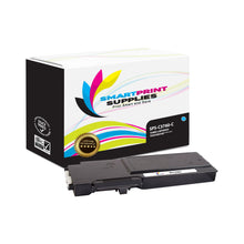 1 Pack Dell C3760 Cyan Replacement Toner Cartridge By Smart Print Supplies