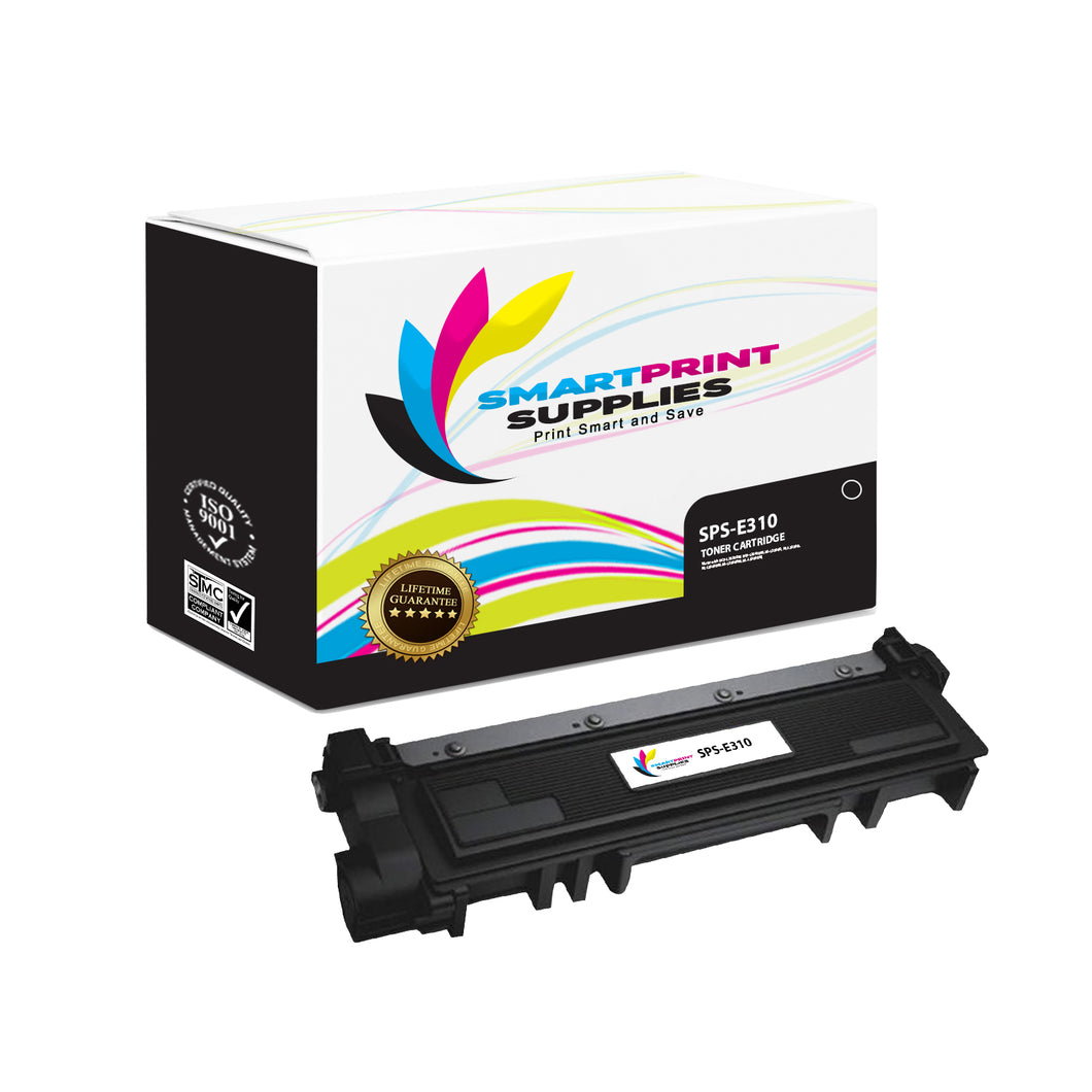 1 Pack Dell E310 Black Replacement Toner Cartridge By Smart Print Supplies