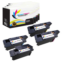 4 Pack  Dell E525 Replacement 4 Colors Toner Cartridge by Smart Print Supplies /2,000 per black cartridge, and 1,400 per color cartridge Pages