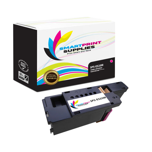 Dell E525M Replacement Yellow Toner Cartridge by Smart Print Supplies /1,400  Pages