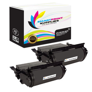 2 Pack Dell M5200 MICR Replacement Black Toner Cartridge by Smart Print Supplies /18000 Pages