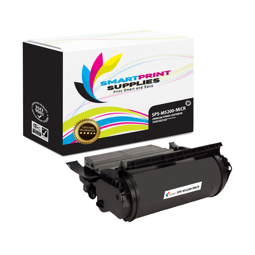 1 Pack Dell M5200 MICR Replacement Black Toner Cartridge by Smart Print Supplies /18000 Pages