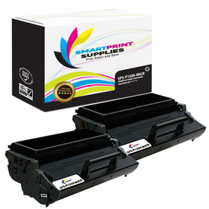 2 Pack Dell P1500 MICR Replacement Black Toner Cartridge by Smart Print Supplies /6000 Pages