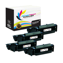 4 Pack Dell S2500 MICR Replacement Black Toner Cartridge by Smart Print Supplies /10000 Pages